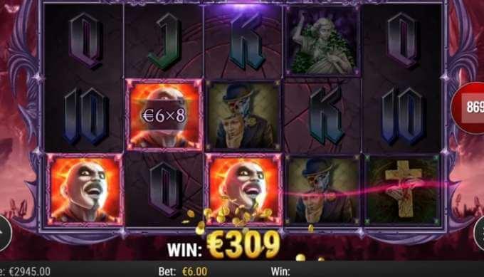 Nádherný herní online casino automat Demon od Play'n GO