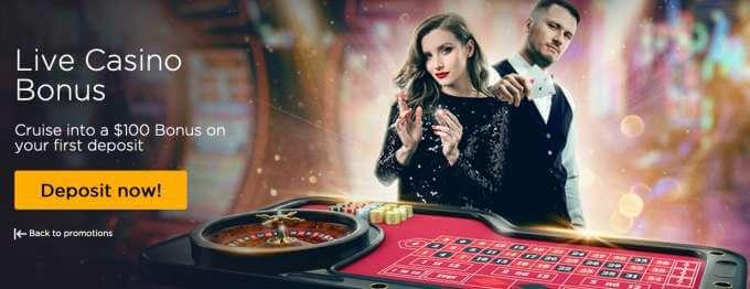 Vyzkoušej si live casino s bonusem!