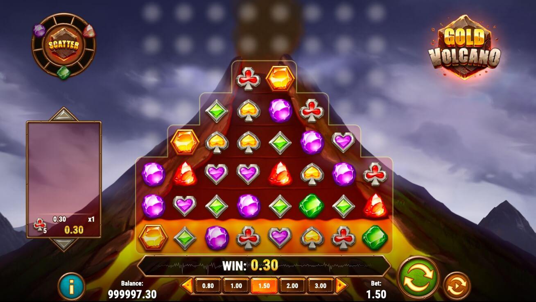 The Gold Volcano casino hra a jeho vzhled