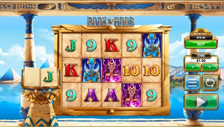 The Book of Gods casino hra a jeho vzhled
