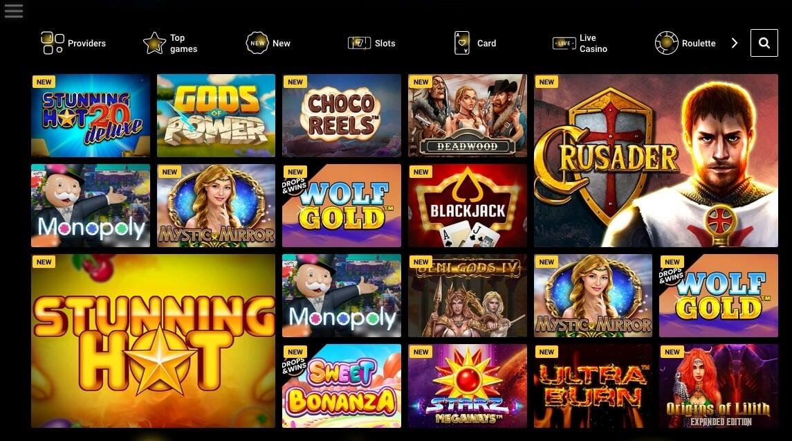 Casino hry v Zet casino