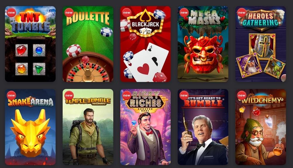 Casino hry v FEZbet