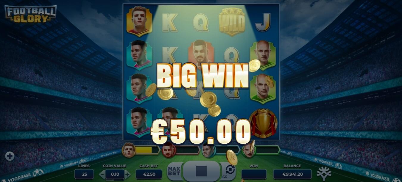 Football Glory - velká výhra