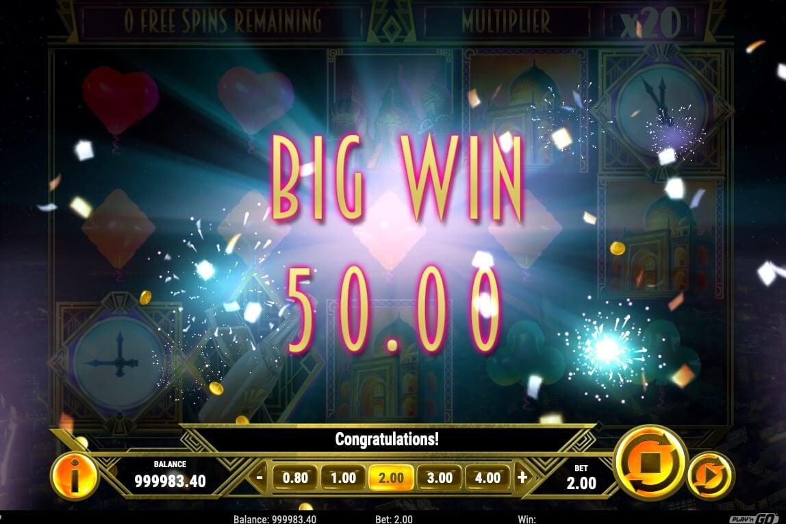New Year Riches - velká výhra