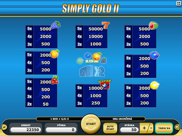 Simply Gold 2 automat