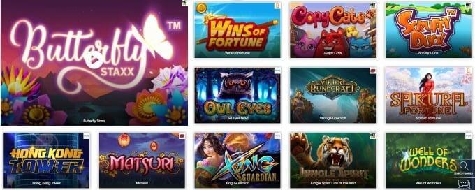 Nové a jedinečné online casino Sloty