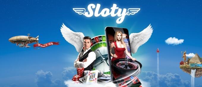 Casino Sloty uvodní strana