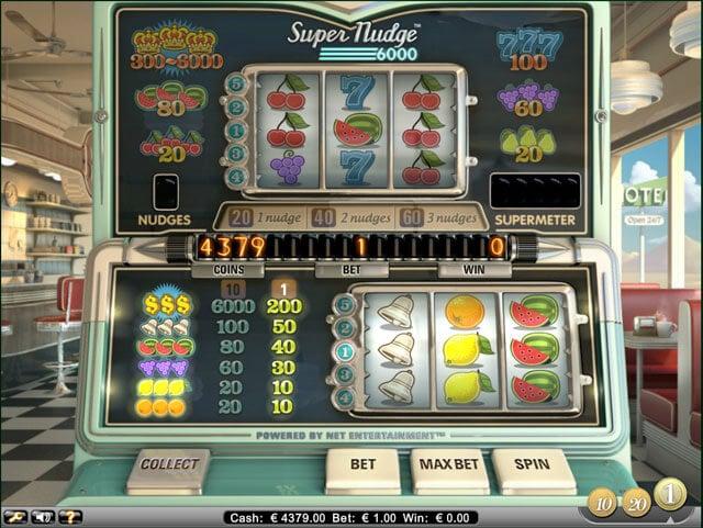 Super Nudge 6000 automat zdarma