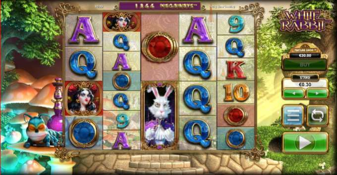 Hra White Rabbit v online casinu FastPay