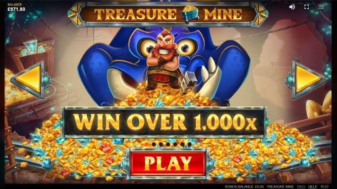 Treasure Mine - velká výhra