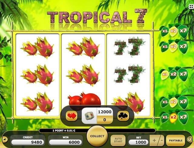 Automaty zdarma Tropical 7