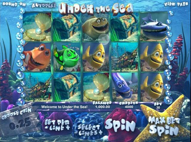 Automaty zdarma Under the Sea