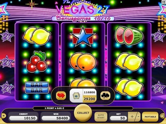 Automaty zdarma Vegas 27