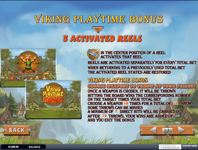 Viking Mania automat zdarma