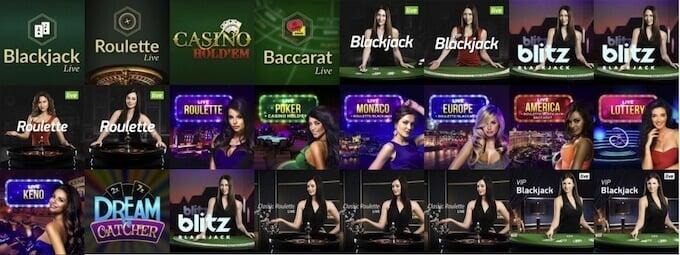 Vulkan Vegas ruleta blackjack