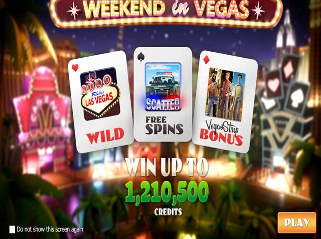 automaty zdarma Weekend in Vegas